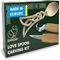 DIY Gifts for Men Who Have Everything- Spoon Carving Kit for Beginners
