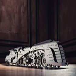 DIY Groomsmen Gifts - Locomotive Stainless-Steel Model Kit