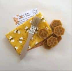 DIY gifts - Do It Yourself Beeswax Wraps Kit