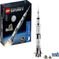 DIY gifts - LEGO Ideas NASA Apollo Saturn V 21309 Outer Space Model Rocket