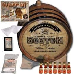 DIy gifts - Personalized Whiskey Making Kit (101)