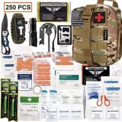 EDC Kits - EVERLIT 250 Pieces Survival First Aid Kit