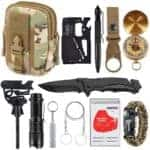 EDC Kits - XUANLAN Emergency Survival Kit 13 in 1