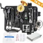 EDC kits - KOSIN Survival Gear, 18 in 1 Emergency Survival Kit
