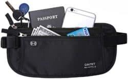EDC wallets - Day Tip Money Belt - Hidden Travel Wallet