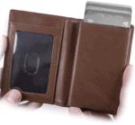 Leather RFID Minimalist Wallet