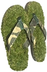 Funny Gifts For Men - GFF Grass Flip Flops