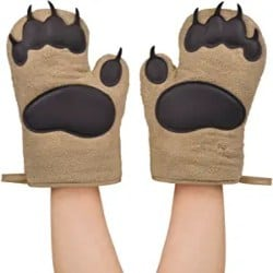 Funny Gifts For Men - Oven Mitts Bear