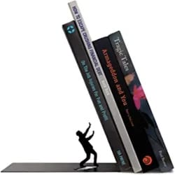 Gifts for men who have everything - Fred THE END Dramatic Bookends