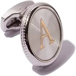 Groomsmen Gifts - 2PCS Platinum Plated Cufflinks