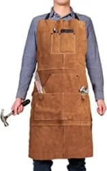 Manly Gifts - Leather Work Shop Apron