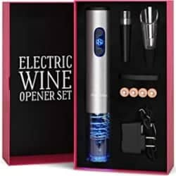 Practical Gifts for Mom - Electric Wine Opener Set