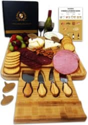 Practical Gifts for mom - Radiant Royals Cheese Board Set
