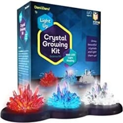 Small DIY Gifts for Men - Light-up Crystal Growing Kit