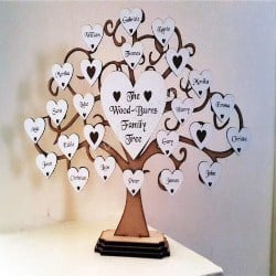 Thoughful Gift Ideas for dad - Personalised Family Tree (1)