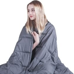 Thoughtful Cool Gift Ideas - Weighted Blanket (1)