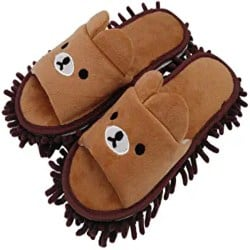 Thoughtful Cute Gift Ideas - Washable Mop Slippers