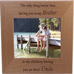 Thoughtful Gift Ideas For Boyfriend - Wood Picture Frame