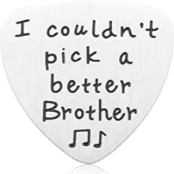 Thoughtful Gift Ideas for Brother - Guitar Pick