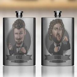 Personalized Groomsmen Flasks (1)
