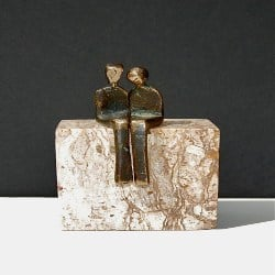 Thoughtful Romantic Gift Ideas - The Loving Couple centerpiece (1)