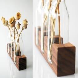 Thoughtful Romantic Gift Ideas - wood vase (1)