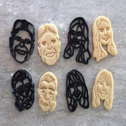 Thoughtful Small Gift Ideas - Custom Face Cookie Cutters (1)