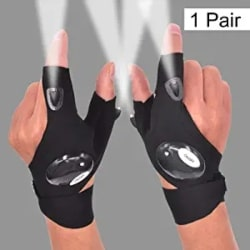 Thoughtful Unique Gift Ideas - LED Flashlight Glove