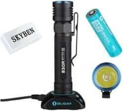 best EDC flashlights - Olight S30R Baton III Cree XM-L2 LED 1050 Lumens 18650 Rechargeable Variable-Output LED Flashlight