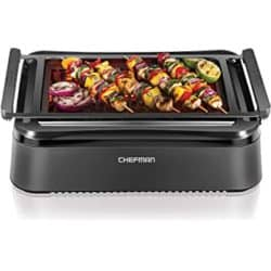 Best Grills - Chefman Electric Smokeless Indoor Grill with Infrared Instant Heating Technology