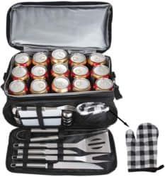 cool christmas gifts - Camping Grilling Tools Kit