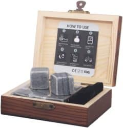 cool christmas gifts - Whiskey Stones Gift Set