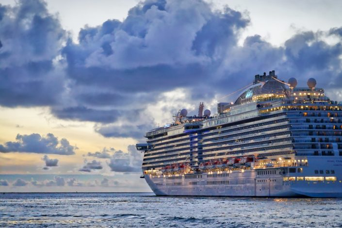 How long is the largest cruise ship? Four football fields.