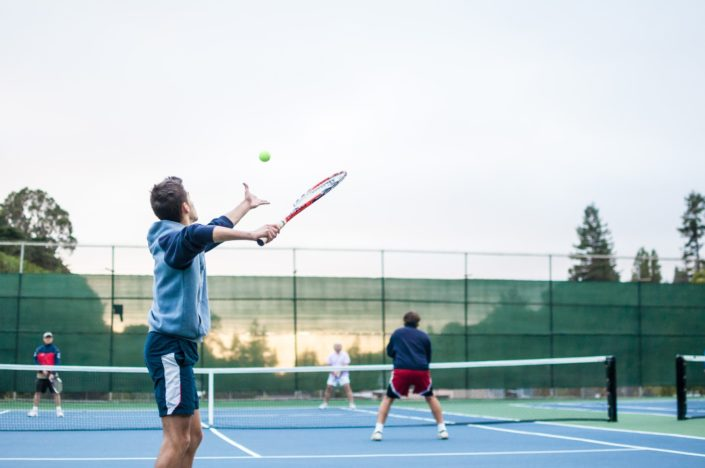 hobbies for couples - tennis
