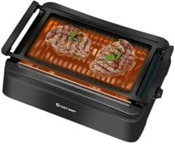 smokeless grill - COSTWAY infrared smokeless grill