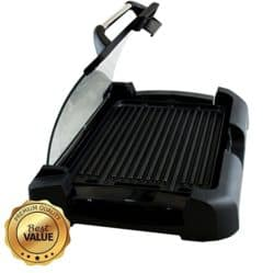 smokeless grill - MegaChef Smokeless Grill
