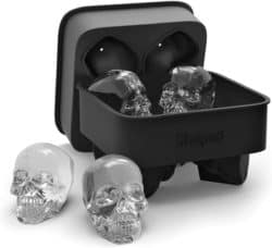 unique gifts - 3D Skull Flexible Silicone Ice Cube Mold Tray