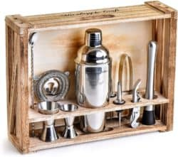unique gifts - Bartender Kit