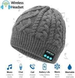 unique gifts - Bluetooth Beanie Hat with Headphones