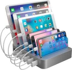 unique gifts - Charging Station Organizer for Multiple Devices