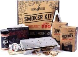 unique gifts - Herb & Grill 7 Piece BBQ Cooking Gift Set