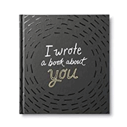 unique gifts - I Wrote a Book About You