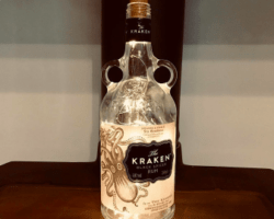 unique gifts - Kracken Bottle Lamp