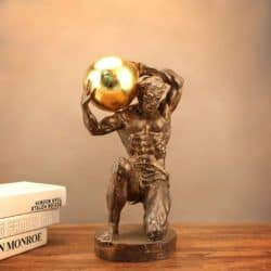 unique gifts - Man of Unusual Strength Statue