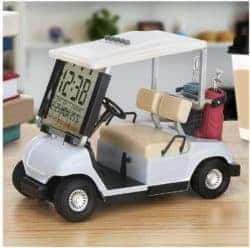 unique gifts - Mini Golf Cart Clock
