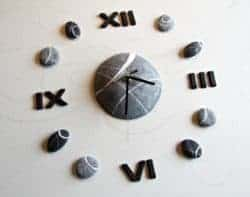 unique gifts - Modern wall clock