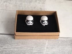 unique gifts - Storm trooper cufflinks