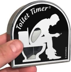 unique gifts - Toilet Timer