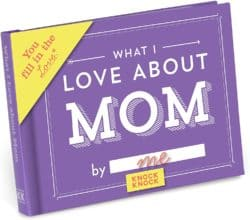 unique gifts for mom - Love Book