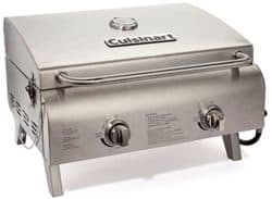 CuisinartCGG-306Stainless Steel TableTop Propane Gas Grill